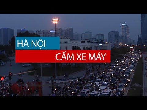 Hà Nội cấm xe máy | VTC14
