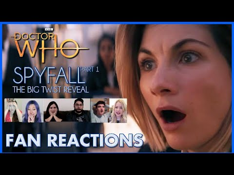 Doctor Who Spyfall : The Big Reveal FANS REACT (Doctor YOU)