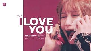 Video EXID - I LOVE YOU Line Distribution (Color Coded) | 이엑스아이디 - 알러뷰 MP3, 3GP, MP4, WEBM, AVI, FLV Juni 2019