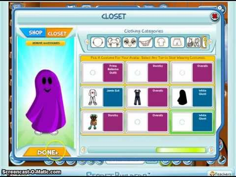 Secretbuilders: How To Make Ghost Outfit