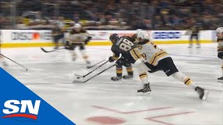 Nate Schmidt Cuts Through Boston Bruins' Defence And Beats Halak by Sportsnet Canada