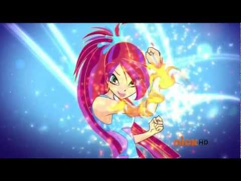 Winx Club Season 5 Episode 17 Faraway Reflections!!! New Sirenix 2D Transformation!!! [Full HD]