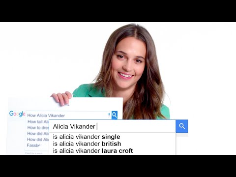 Alicia Vikander Answers the Internet s Most Searched Questions About