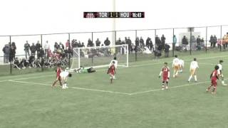 TFC Fall Invitational: Toronto (4) vs Houston (5) - October 4, 2015