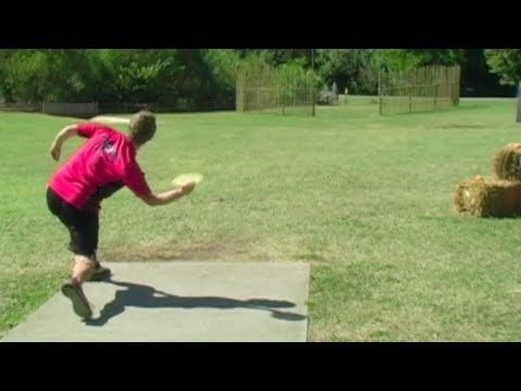 Disc Golf Shot Hole In One