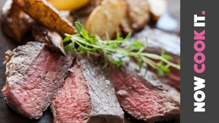 Steak And Wedges Recipe | Now Cook It by SORTEDfood