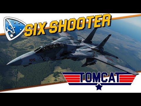 DCS World: Six Shooter | F-14B TOMCAT by Heatblur Simulations