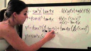 Chain Rule Example 3 And Product Rule Example 5