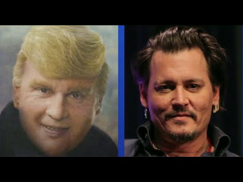 WATCH:  Johnny Depp as Donald Trump?!?!?