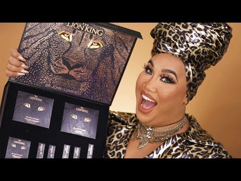 The Lion King Collection Makeup Tutorial | PatrickStarrr