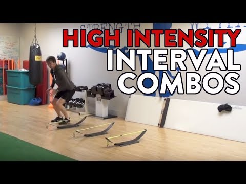 Hockey Training – High Intensity Interval Combos
