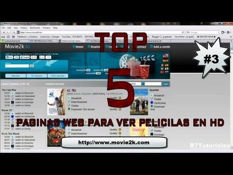 TOP 5 MEJORES PAGINAS WEB PARA VER PELICULAS EN HD 2013