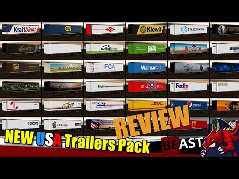 New USA Trailers Pack v2.0