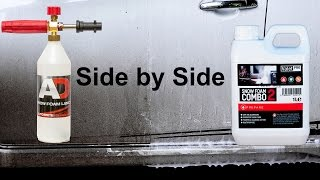 will it works?side by side Cleaning Power Test!Snow foam is a prewash foam, sprayed onto the car to lubricate and dissolve as much dirt as possible, to help keep the infliction of swirl marks, scratches and abrasions to a minimum. after this, you can sprayed the car again with water/pressure washer, and continue washing by hand.EBAY. comNilfisk C110 : https://goo.gl/LbQuyAAutobrite Foam Lance : https://goo.gl/2WTMiJValetPro Snow Foam Combo 2 : https://goo.gl/vLU8IK----------------------------------------------------------------------------------------EBAY UKNilfisk C110 : https://goo.gl/Y7cR1aAutobrite Foam Lance : https://goo.gl/4hLEUcValetPro Snow Foam Combo 2 : https://goo.gl/5iY6BO----------------------------------------------------------------------------------------AMAZON U.SNilfisk C110 : http://amzn.to/2cRD1HHother Foam Lance : http://amzn.to/2fI2W0v----------------------------------------------------------------------------------------AMAZON U.KNilfisk C110 : http://amzn.to/2cthFwcAutobrite foam lance : http://amzn.to/2eJNbFfValetPro Snow Foam Combo 2 : http://amzn.to/2iQtEdk----------------------------------------------------------------------------------------INDONESIAyg mau nitip beli produk dari autobrite atau ebayWhatsApp : +6281361330151----------------------------------------------------------------------------------------Snow Foam Tutorialhttps://www.youtube.com/playlist?list=PL0hmdwdvItIOP0JQZr0oLHwY-JtVfdcrcSnow Foam Shampoo Test Videohttps://www.youtube.com/playlist?list=PL0hmdwdvItIMpY1E_1574-m4msKlcRB3HCar Shampoo in snow foam lance testhttps://www.youtube.com/playlist?list=PL0hmdwdvItIMNJtwT8dHGRys_NSMjIPFpAuto Detailing Product Reviewhttps://www.youtube.com/playlist?list=PL0hmdwdvItINwDvIxPWpgYnAxj1qMSW-Q