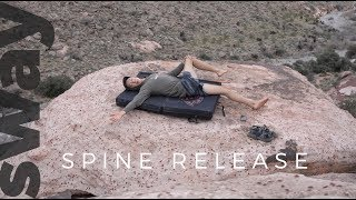 10 Minute Spine Release For Climbers | Climb With Sway by  WeDefy
