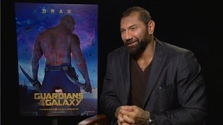Dave Bautista talks to Alexandra Heilbron in Toronto about how he got the role of Drax in 'Guardians of the Galaxy' and what he did to prepare. He also revea...