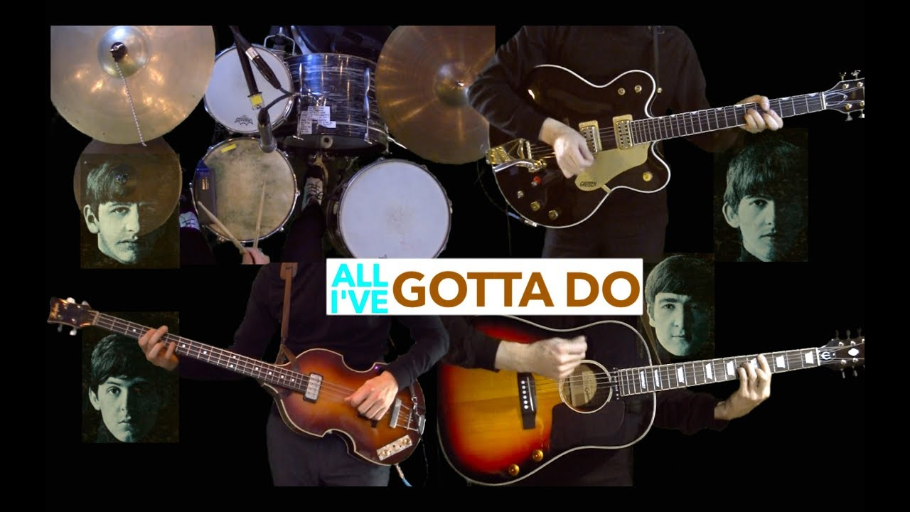 All I've Gotta Do – Instrumental Cover – Guitar, Bass, Drums and Acoustic