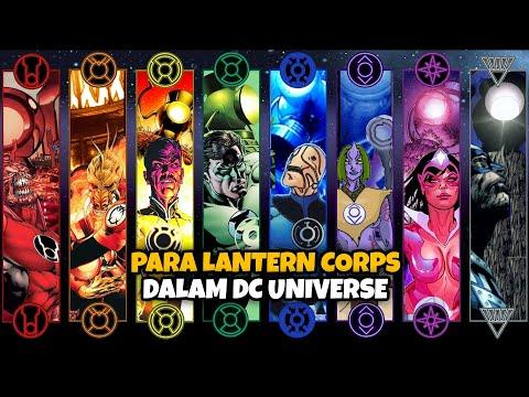 Berbagai Lantern Corps di DC Universe