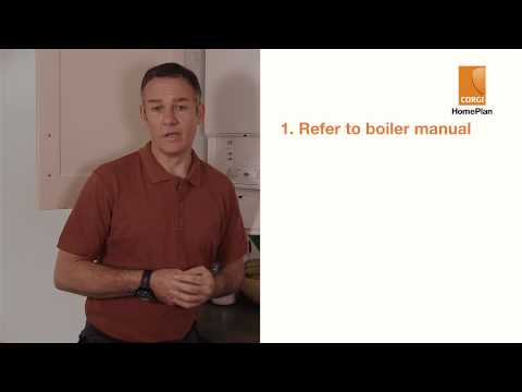Resetting your boiler