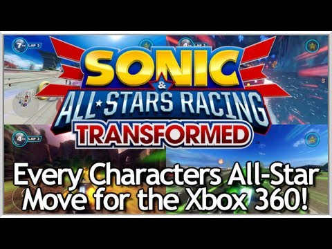 sonic all stars racing transformed xbox 360 part 1