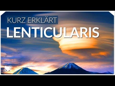 Lenticularis - UFO-Wolken