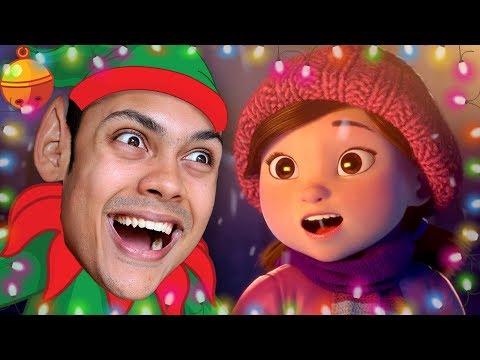 REACTING TO CHRISTMAS ANIMATIONS (CHRISTMAS 2017)