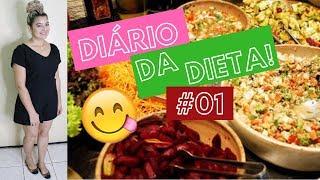 EMAGRECI 12 KG EM 3 MESES COM DIETA LOW CARB E JEJUM INTERMITENTE #DIÁRIO DA DIETA #01