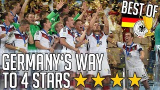 Video Germany's Way To 4 Stars ✶ FIFA World Cup 2014 | BEST OF MP3, 3GP, MP4, WEBM, AVI, FLV April 2019