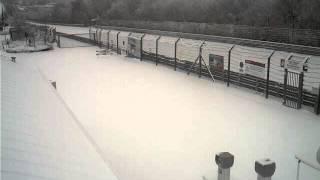 Nurburgring Gate Webcam Timelapse January 21, 2013