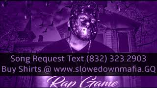 Eddie De La Soul   Rap Game Jason Slowed Down Mafia @djdoeman
