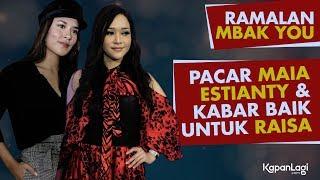 Video Ramalan Mbak You - Pacar Maia Estianty - Kabar Baik Untuk Raisa MP3, 3GP, MP4, WEBM, AVI, FLV Desember 2018