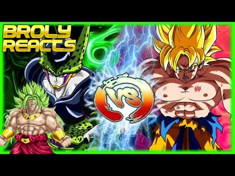 Chipart - Broly Reacts To  Perfect Cell Vs Goku (Cell Vs Chi-Chi Part 2)