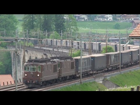► BLS Re 4/4 (Re 425) 161 - 195 (alle Lokomotiven /every locomotive) [2006 - 2012]