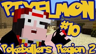 Minecraft Pixelmon: Pokeballers Server Region 2 - Episode 10 - Road to the Third Gym!
