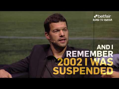 Michael Ballack | What It's Like To Miss The World Cup Final | Road To Russia