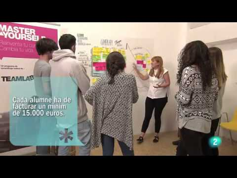 Aparición en TVE Catalunya de Grado Universitario Internacional en Liderazgo Emprendedor e Innovación (LEINN) en Teamlabs