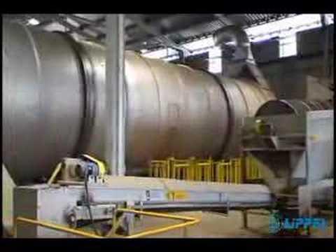 Secador Rotativo Lippel - Secagem de Serragem, Cavacos, Biomassa