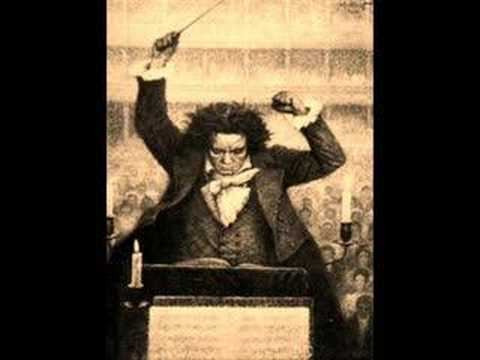 Beethoven - This is the first movement of Beethoven's 5th symphony. Composed between 1804 and 1808.