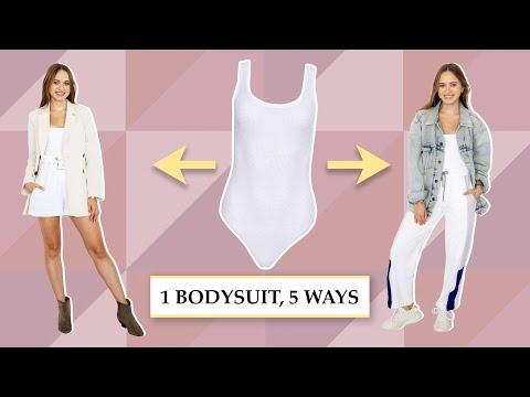 1 BODYSUIT, 5 WAYS | How to style it