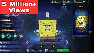 Video Edit Hero Mobile Legend jadi spongebob di Android MP3, 3GP, MP4, WEBM, AVI, FLV Juni 2018