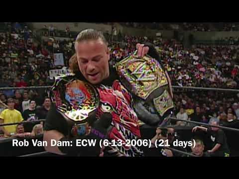 EVERY ECW CHAMPION (1992-2010)