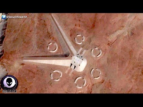 العرب اليوم - بالفيديو: ظهور كائنات فضائية غريبة في صحراء شرق القاهرة