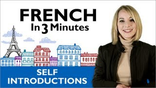 Learn French - How to Introduce Yourself in French