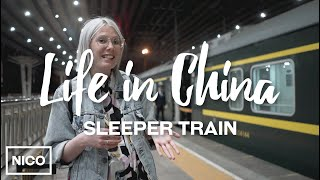 The overnight sleeper train – BeiJing to Xi'An