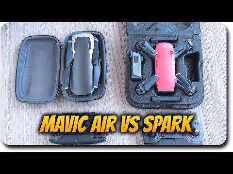 DJI Mavic Air vs DJI Spark Comparison