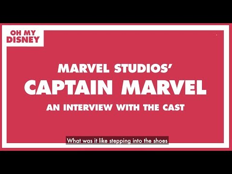 Brie Larson, Samuel L. Jackson, Gemma Chan and More On Filming Captain Marvel | Oh My Disney