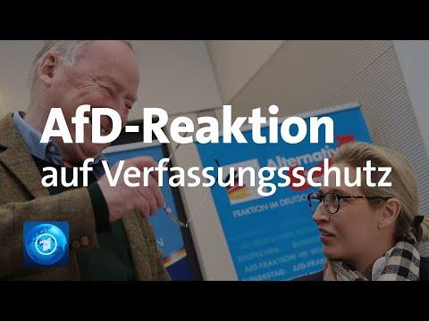 Prüffall: AfD-Reaktion auf Verfassungsschutz-Entsch ...