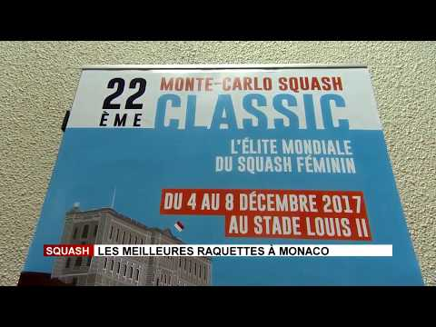 Top squash players in Monaco