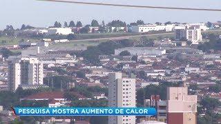 Pesquisa de Faculdade de Tecnologia aponta que 2018 foi o ano mais quente em Jaú