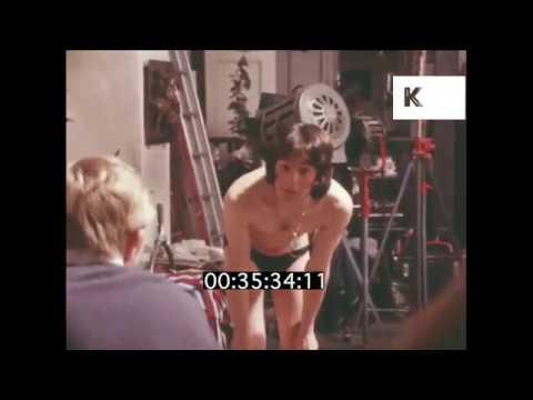 1970 UK, John Schlesinger Directing Murray Head on Set of Sunday Bloody Sunday